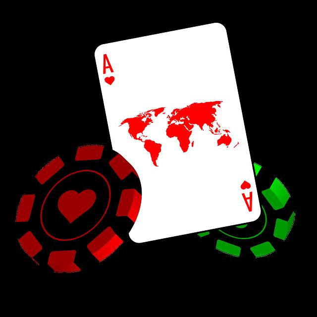spelmarker på casino